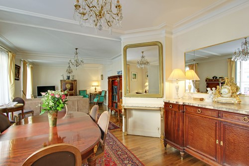 Dining Room And Salon
