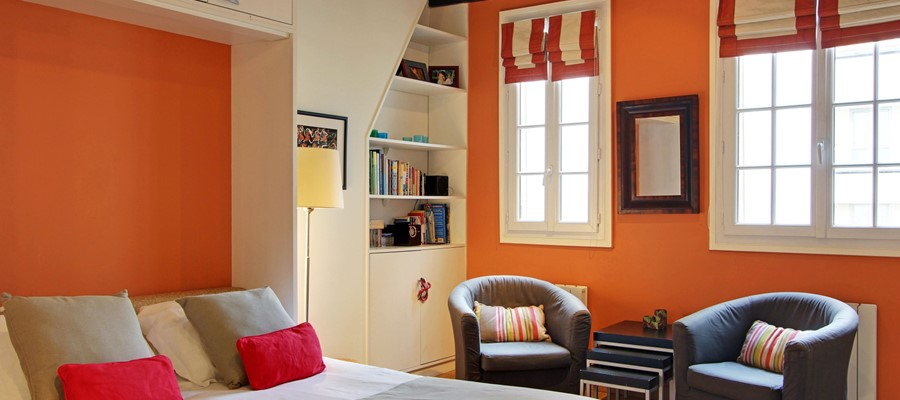 DAUPHINE - Large Studio in the heart of St Germain - Sleeps 4