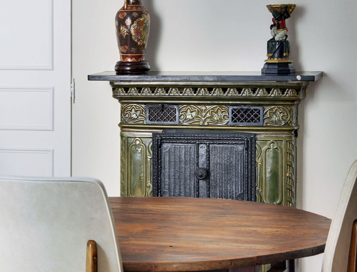 Prussian fireplace